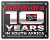 Mahindra Celebrates 10 Years Of Success In SA